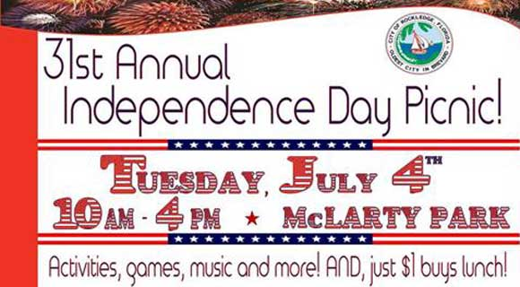 Ryan Reporting Donates to the 31st Annual Independence Day Picnic for the City of Rockledge